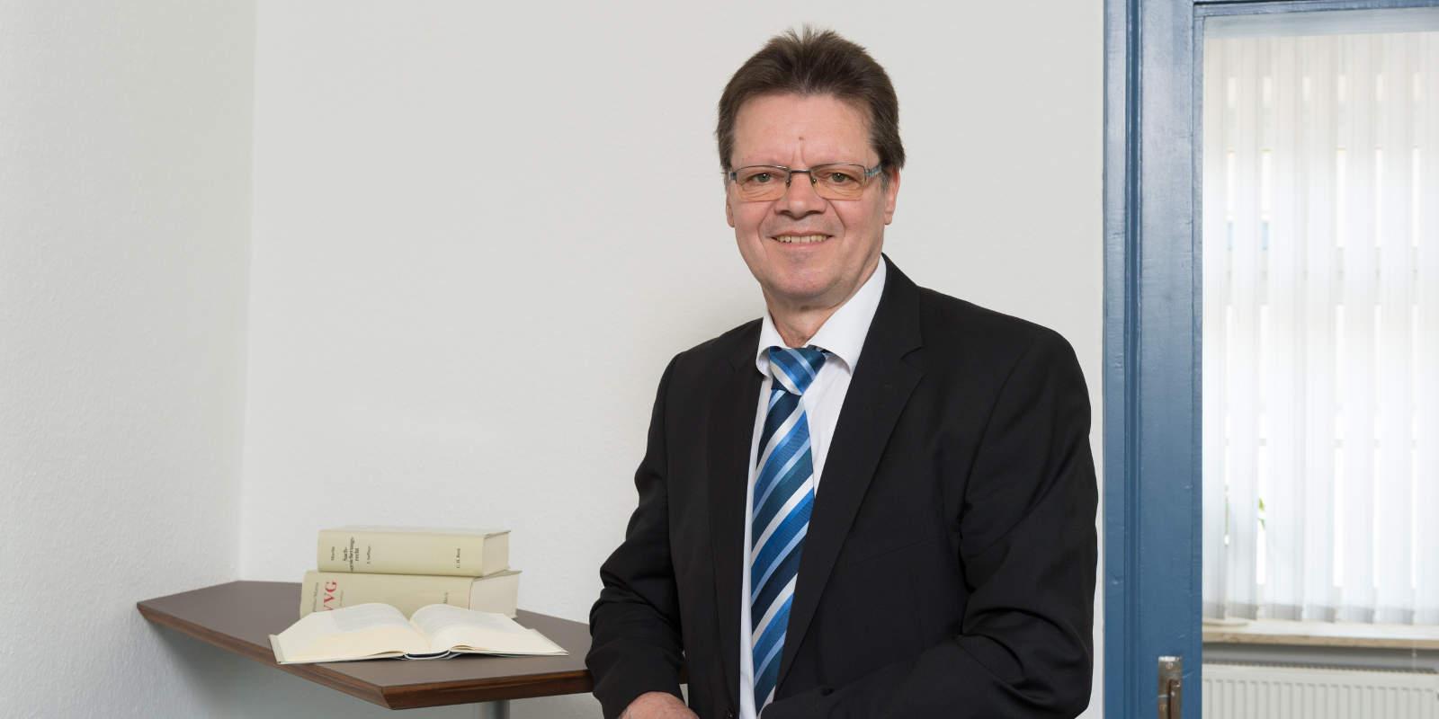 Porträt Rüdiger Falken, Rentenberater und Versicherungsberater